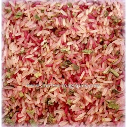 Love pink rice (riz rose...
