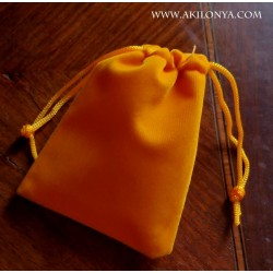 Orange yellow bag