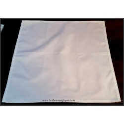 White altar tablecloth