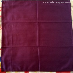 Plum altar tablecloth