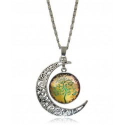 Moon pendant and tree of...