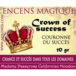 Crown of success encens...