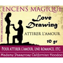 Love drawing encens (Amour...