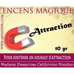 Attraction encens