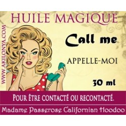 Huile Call me (Appelle-moi)