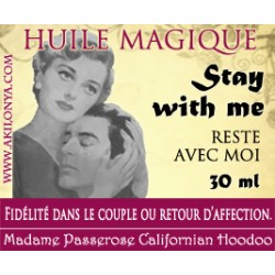 Huile Stay with me (Reste...