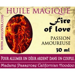 Huile Fire of love (Passion...