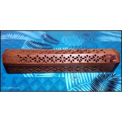 Incense holder with pierced...