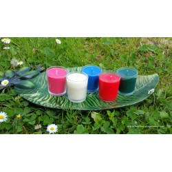 Votive couleur 36h
