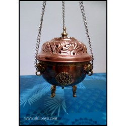 Incense with copper chain