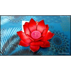 Photophore Lotus color red...