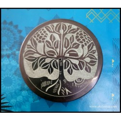 Round incense holder in...