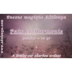 Peace and Harmony Incense