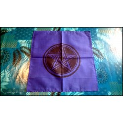 Blue altar tablecloth with...