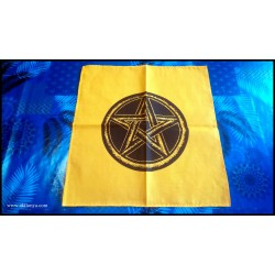 Yellow altar tablecloth...